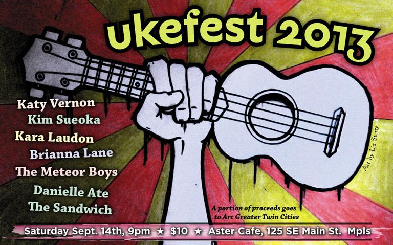 Ukefest 2013 WebPoster
