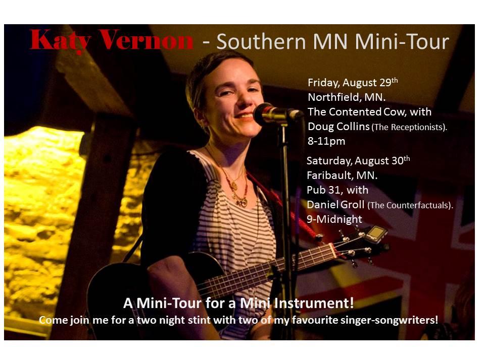 Katy Vernon - Southern MN Mini-Tour